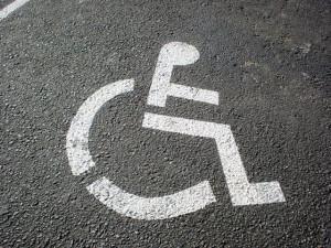 Vaga pessoa com deficiência